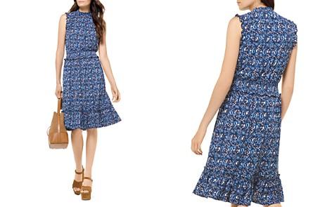 MICHAEL Michael Kors Paisley Smocked Waist Dress - Bloomingdale's_2