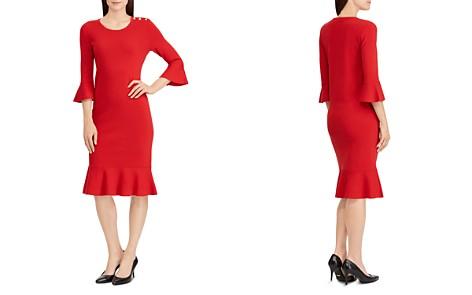 Lauren Ralph Lauren Ruffle-Trimmed Dress - Bloomingdale's_2