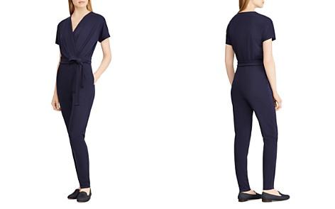 Lauren Ralph Lauren Wrap Front Jumpsuit - Bloomingdale's_2