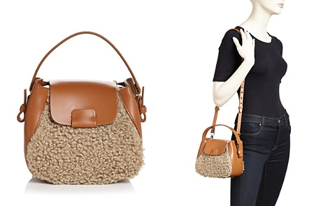 Nico Giani Small Leather & Faux Fur Crossbody - Bloomingdale's_2
