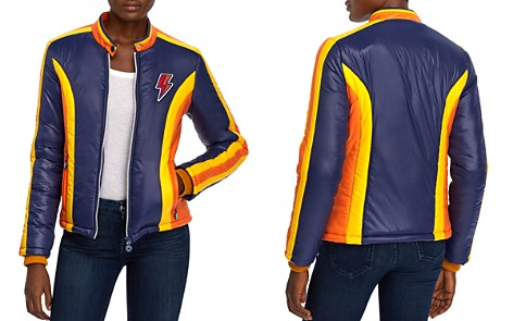 MOTHER The High Flyer Color-Block Jacket - Bloomingdale's_2