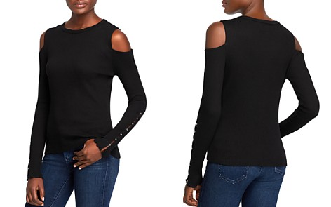 Current/Elliott The Going Steady Cold-Shoulder Top - Bloomingdale's_2
