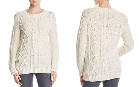 Gerard Darel Marylin Cable-Knit Pullover - 100% Exclusive - Bloomingdale's_2