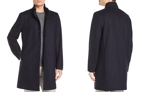 Theory Belvin Modus Melton Button-Front Jacket - Bloomingdale's_2