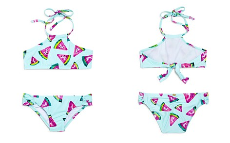 PilyQ Girls' Watermelon-Print Embroidered 2-Piece Swimsuit - Little Kid, Big Kid - Bloomingdale's_2