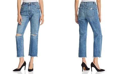 DL1961 Jerry High Rise Vintage Straight Jeans in Veracruz - Bloomingdale's_2