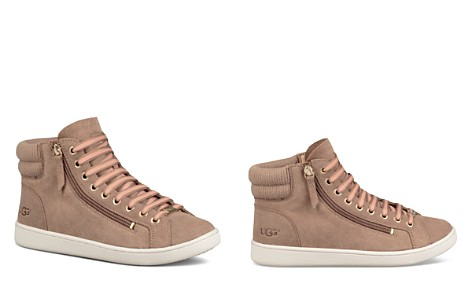 UGG® Women's Olive Leather High Top Sneakers - Bloomingdale's_2