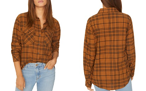 Sanctuary Plaid Boyfriend Shirt - Bloomingdale's_2