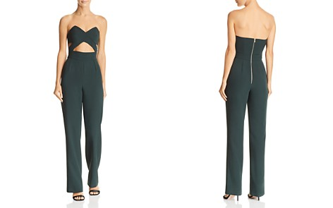 Karina Grimaldi Johan Strapless Cutout Jumpsuit - Bloomingdale's_2