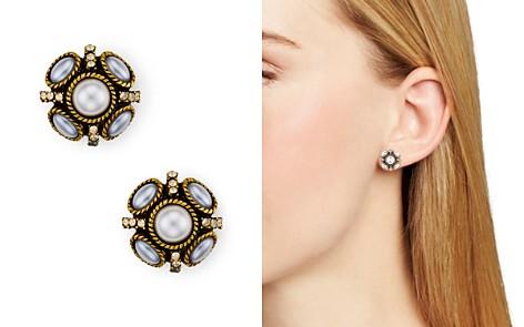 Oscar de la Renta Button Stud Earrings - Bloomingdale's_2