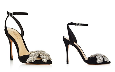 SCHUTZ Women's Ayanne Embellished Suede High-Heel Sandals - Bloomingdale's_2