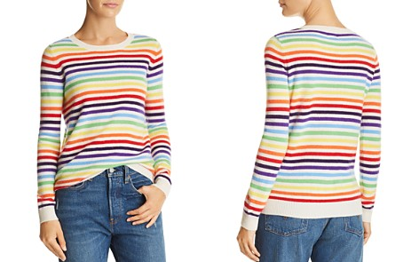 Madeleine Thompson Striped Cashmere Sweater - Bloomingdale's_2