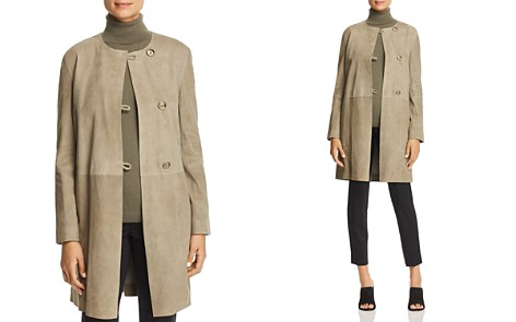 Lafayette 148 New York Kierra Lamb Suede Jacket - Bloomingdale's_2