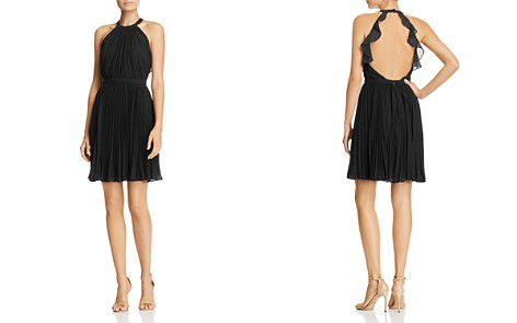 Aijek Pleated Mini Dress - Bloomingdale's_2
