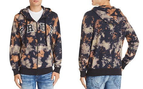 True Religion Arched Logo Tie-Dyed Hoodie - Bloomingdale's_2