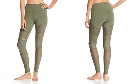 Alo Yoga Sheila High-Waist Mesh-Inset Leggings - Bloomingdale's_2
