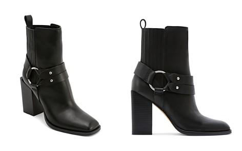 Dolce Vita Women's Isara Leather Harness Block Heel Booties - Bloomingdale's_2