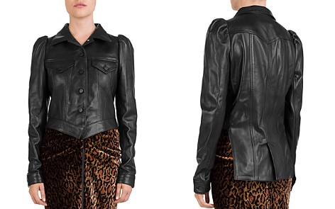 The Kooples Leather Tailcoat Jacket - Bloomingdale's_2