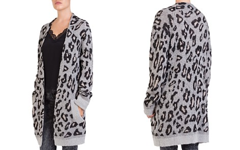 The Kooples Leopard-Print Long Open Cardigan - Bloomingdale's_2