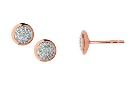 Links of London Diamond Essentials Round Pavé Diamond Stud Earrings - Bloomingdale's_2