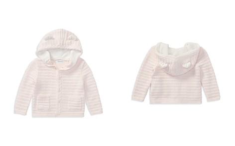 Ralph Lauren Girls' Hooded Cotton Cardigan with Bear Ears - Baby - Bloomingdale's_2