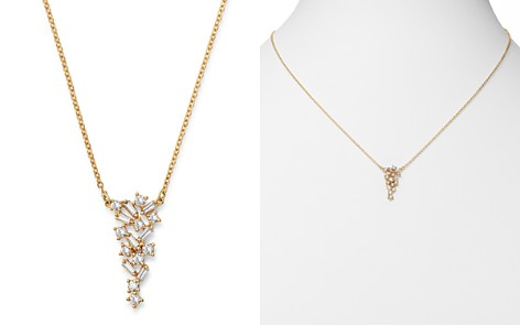 Bloomingdale's Diamond Scatter Pendant Necklace in 14K Yellow Gold, 0.40 ct. t.w. - 100% Exclusive_2