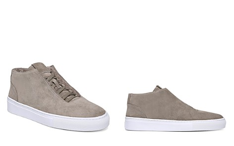 Via Spiga Women's Sartin Suede & Shearling Sneakers - Bloomingdale's_2