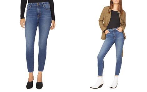 Sanctuary Social High Rise Ankle Jeans in Arena Blue - Bloomingdale's_2