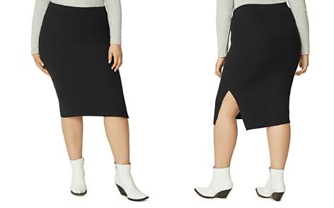 Sanctuary Curve Knit Pencil Skirt - Bloomingdale's_2