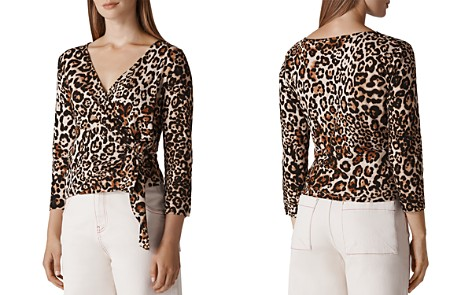 Whistles Leopard-Print Wrap Top - Bloomingdale's_2