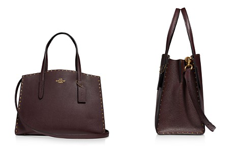 COACH Charlie Large Leather Carryall - Bloomingdale's_2