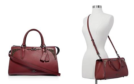 COACH x Selena Gomez Bond Crystal-Embellished Leather Satchel - Bloomingdale's_2