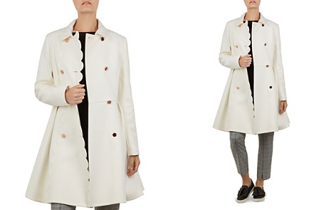 Ted Baker Blarnch Scallop-Edge Coat - Bloomingdale's_2