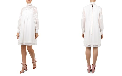 Ted Baker Kathiea Lace-Trimmed Tunic Dress - Bloomingdale's_2
