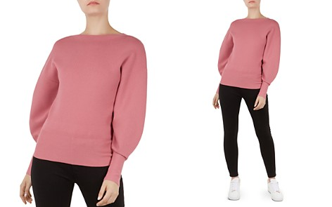 Ted Baker Popsah Balloon-Sleeve Sweater - Bloomingdale's_2