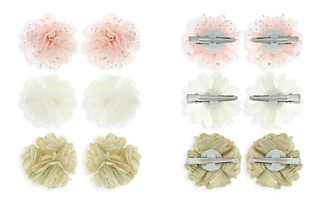 Capelli Girls' Flower Clips, Set of 6 - Bloomingdale's_2