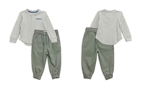 Sovereign Code Boys' Waffle-Knit Henley & Jogger Pants Set - Baby - Bloomingdale's_2