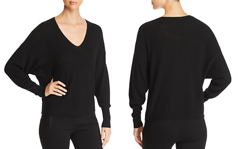 Eileen Fisher V-Neck Box-Top Sweater - Bloomingdale's_2