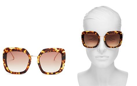 Fendi Women's Oversized Square Sunglasses, 53mm - Bloomingdale's_2