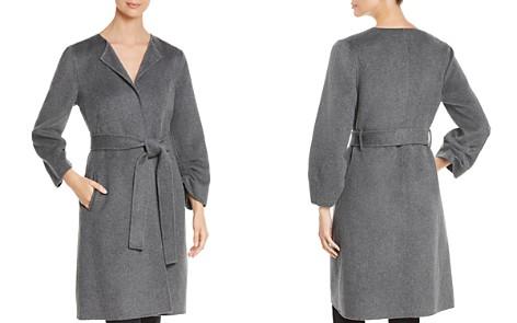 Kobi Halperin Jackie Cinch Sleeve Wrap Coat - Bloomingdale's_2