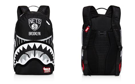 Sprayground NBA Lab Brooklyn Nets Bridge Backpack - Bloomingdale's_2