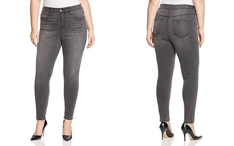 Seven7 Jeans Plus Studded Skinny Jeans in Revolution - Bloomingdale's_2