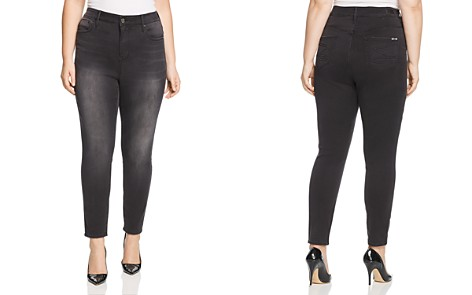 Seven7 Jeans Plus High-Rise Skinny Jeans in Dark Night - Bloomingdale's_2