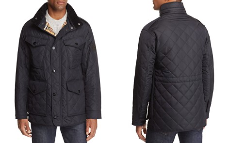 Burberry Ascott Corduroy-Trimmed Quilted Field Jacket - Bloomingdale's_2