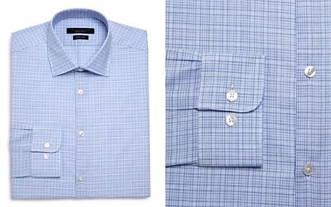 John Varvatos Star USA Checked Graph Regular Fit Dress Shirt - Bloomingdale's_2