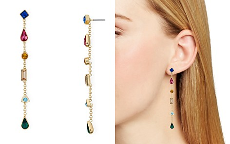 AQUA Multicolor Linear Drop Earrings - 100% Exclusive - Bloomingdale's_2