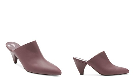 Laurence Dacade Women's Stefany Leather Pointed-Toe Mules - Bloomingdale's_2