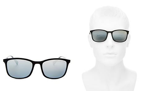 Prada Men's Linea Rossa Polarized Brow Bar Aviator Sunglasses, 56mm - Bloomingdale's_2