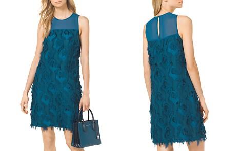 MICHAEL Michael Kors Textured Shift Dress - Bloomingdale's_2