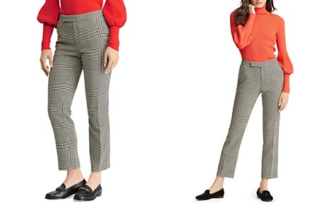Lauren Ralph Lauren Checked Skinny Pants - Bloomingdale's_2